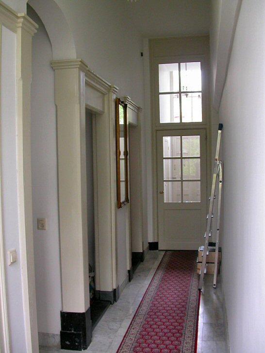 trappen gevels huizen oude