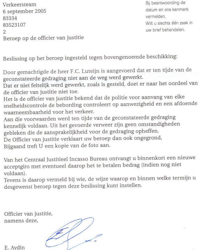 voorbeeldbrief in beroep gaan brief opstellen in beroep gaan   bezwaarschrift ten aanzien  voorbeeldbrief in beroep gaan
